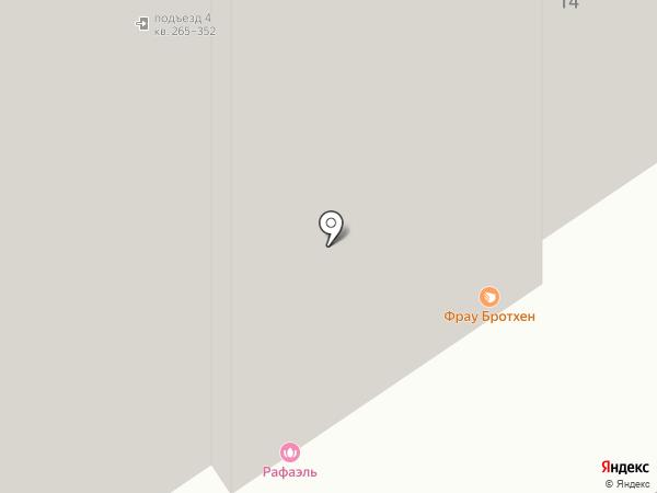 Allure на карте
