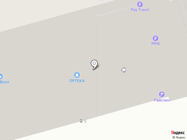 Городской архив на карте