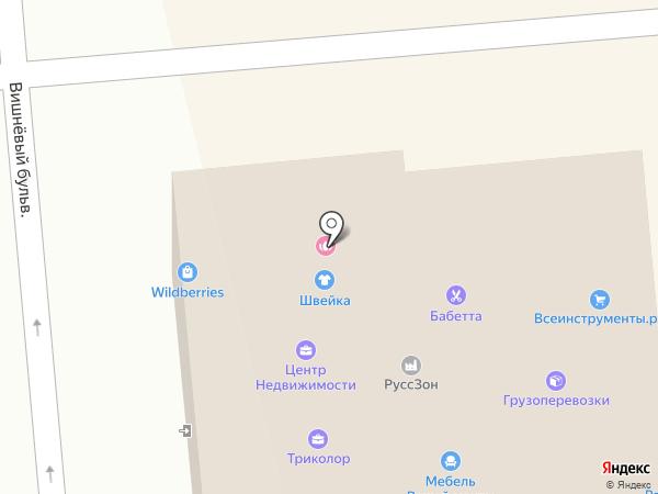 ВсеИнструменты.ру на карте