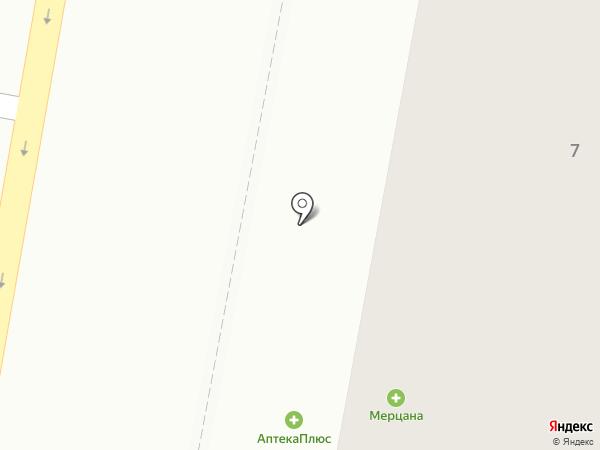 Мерцана на карте