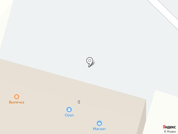 Августа на карте