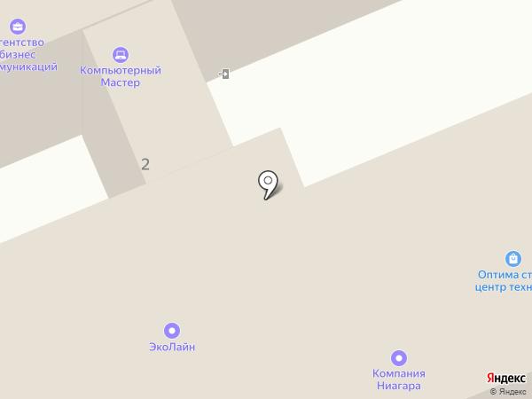 Лаен на карте