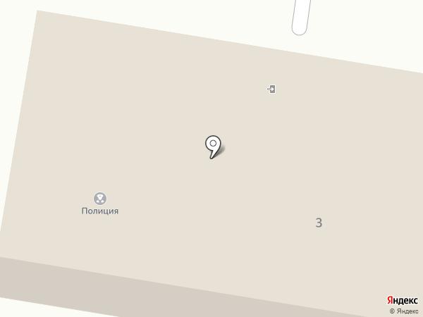Участковый пункт полиции Первомайский на карте