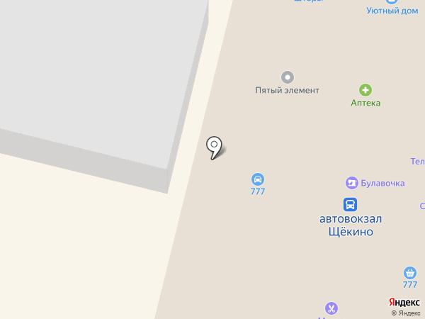 Магазин одежды на Советской на карте