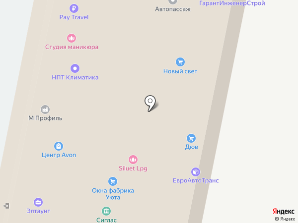 Климовская сеть на карте