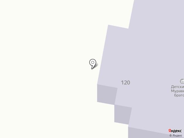 Муравейное братство на карте