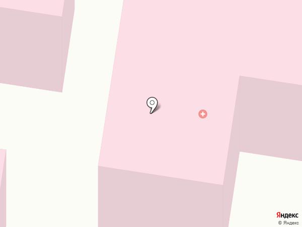 Марьинская центральная районная больница на карте