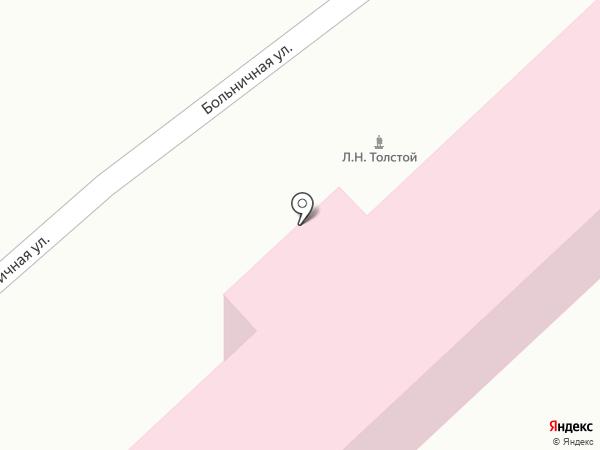 Тульская областная больница №2 им. Л.Н. Толстого на карте