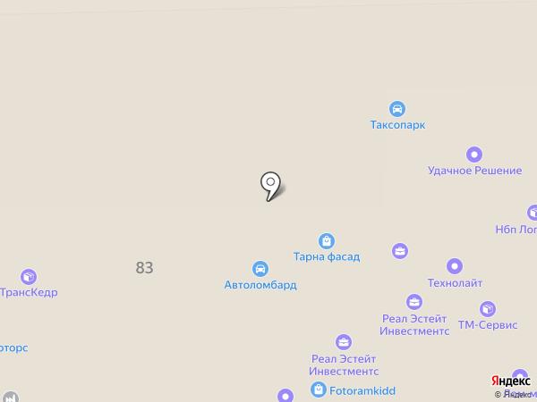 ЛАТ на карте