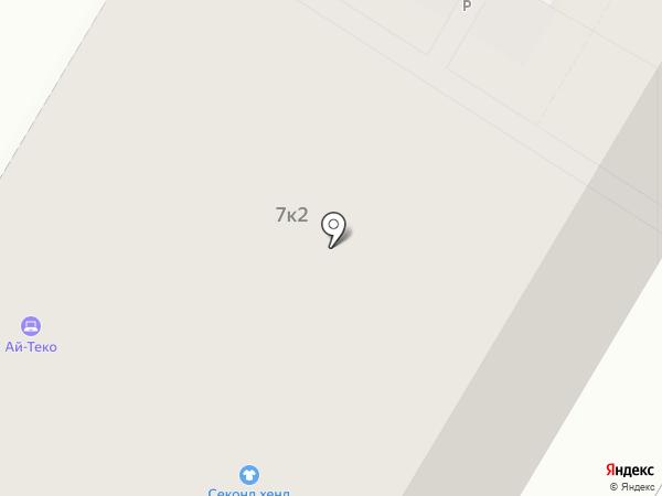 Годограф на карте