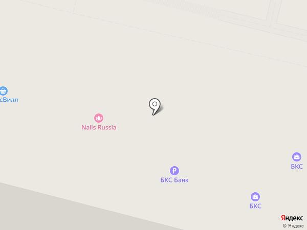 Евроклиника на карте