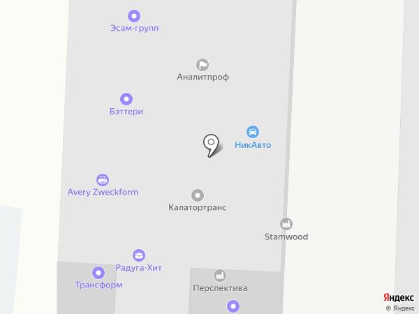 Легкое Небо на карте