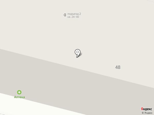 Лада-Вираж на карте