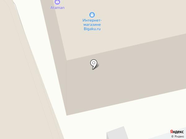 Эпас на карте