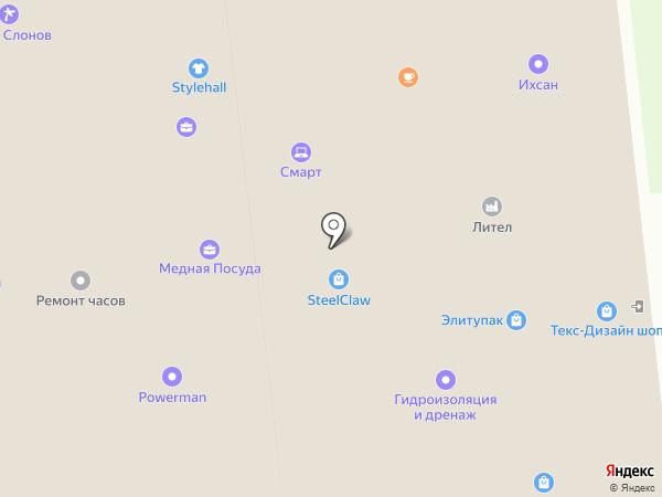 Лилак на карте