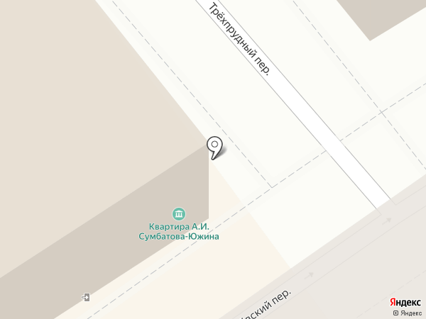 Мемориальный музей-квартира А.И. Сумбатова-Южина на карте