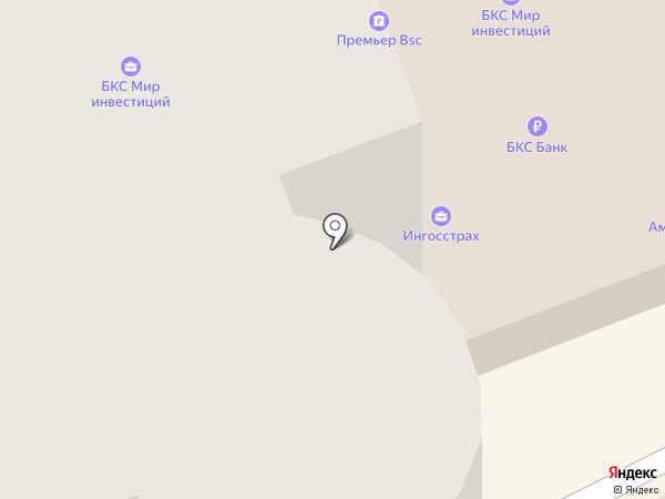 на Новослободской на карте