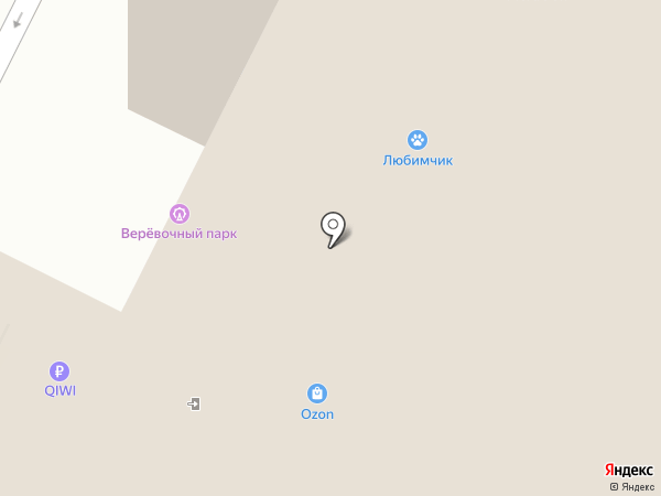 Пиро-Росс на карте