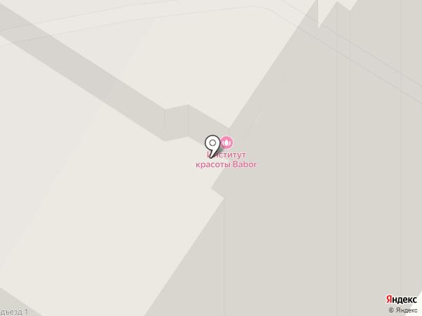 Дворянский на карте