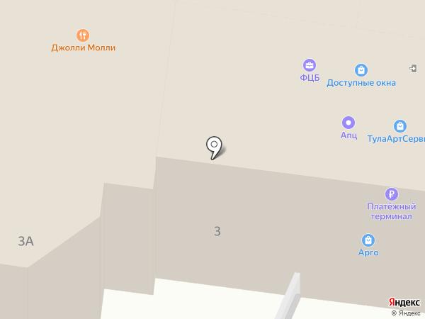 ТулаАртСервис на карте