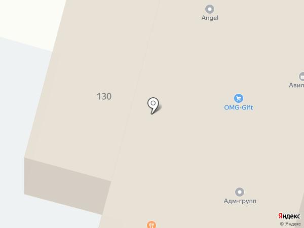 Амадей на карте