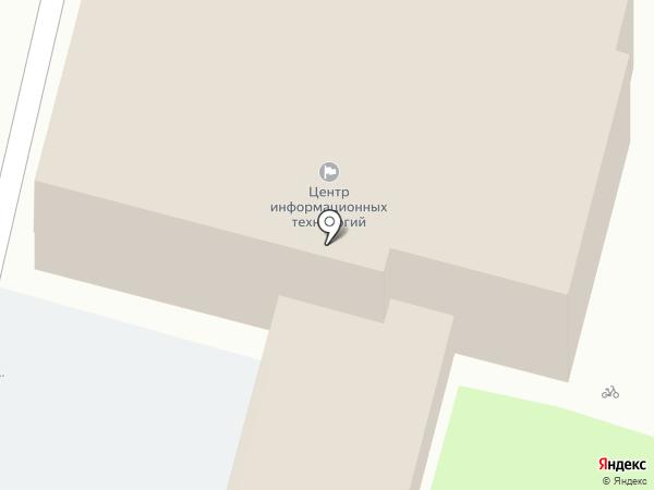 Центр информационных технологий, ГАУ на карте