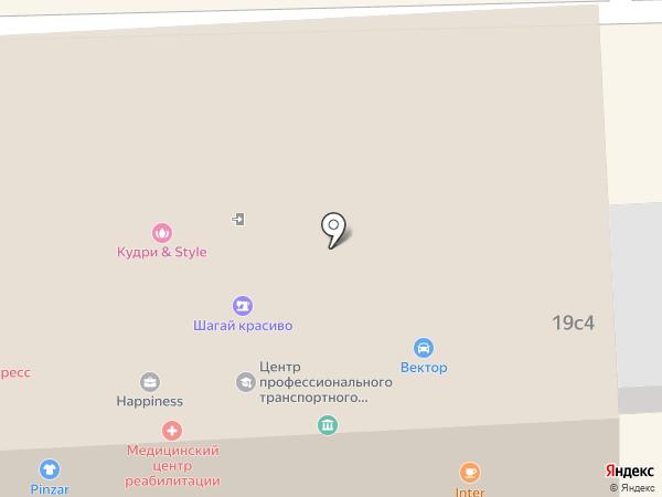 Проф-подбор на карте