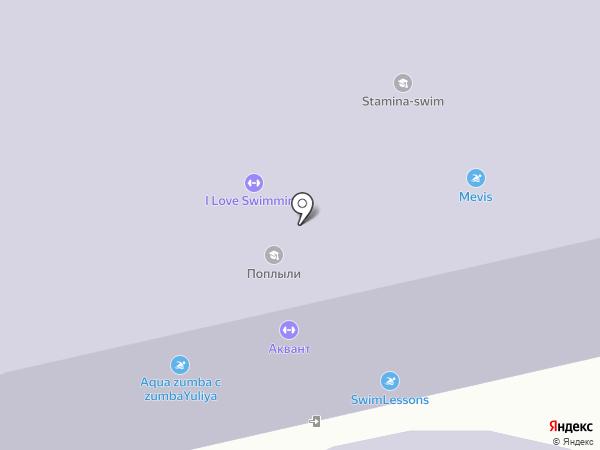 Спортивный клуб на карте