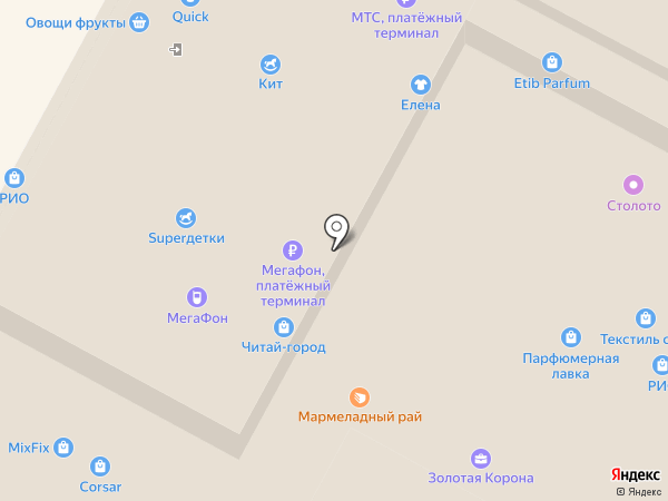 Palladium на карте