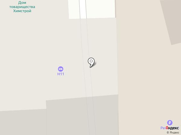 H-11 на карте