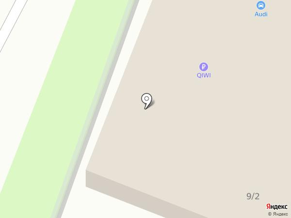 Диадема на карте
