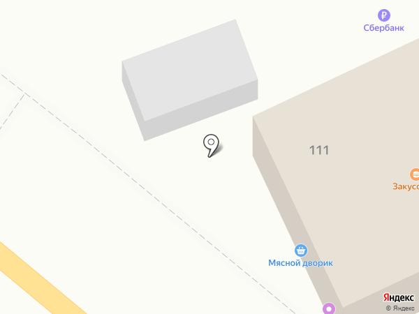 Мясной дворик на карте