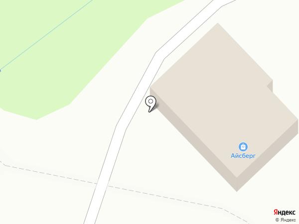Айсберг на карте
