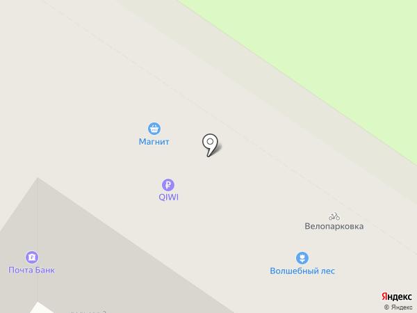 Очки и Линзы на карте