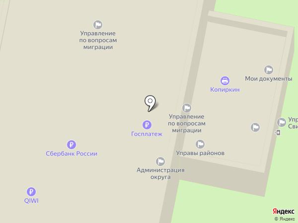 Экспресс Вендинг на карте