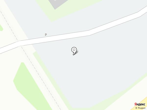 Автостоянка на ул. Бондаренко на карте