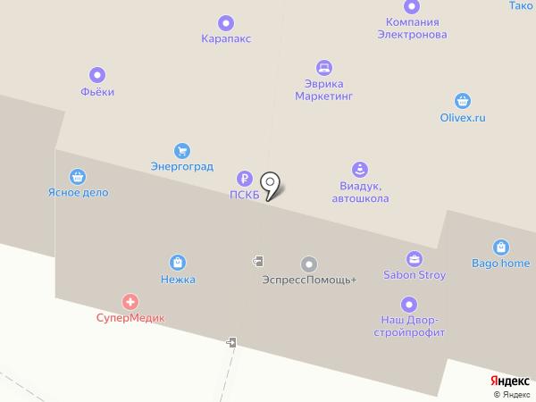 SiteMW на карте