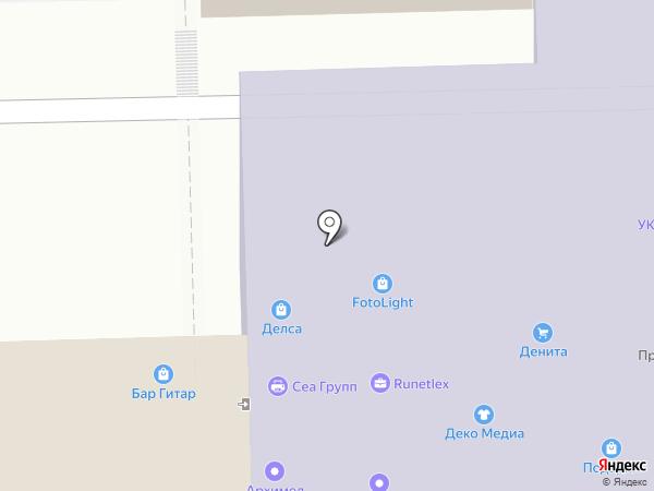 MV & F на карте