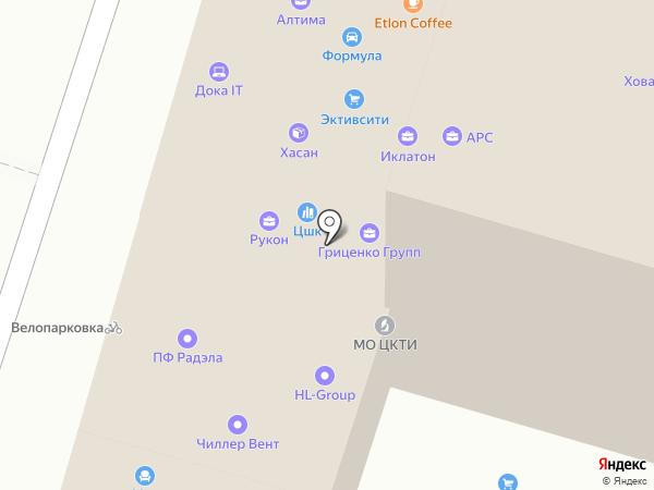 PrECA на карте