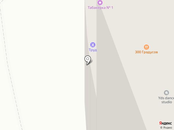 Пробка на карте