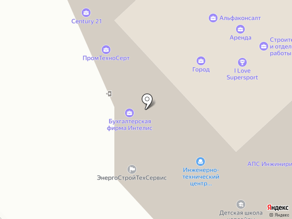 Синергус Групп на карте