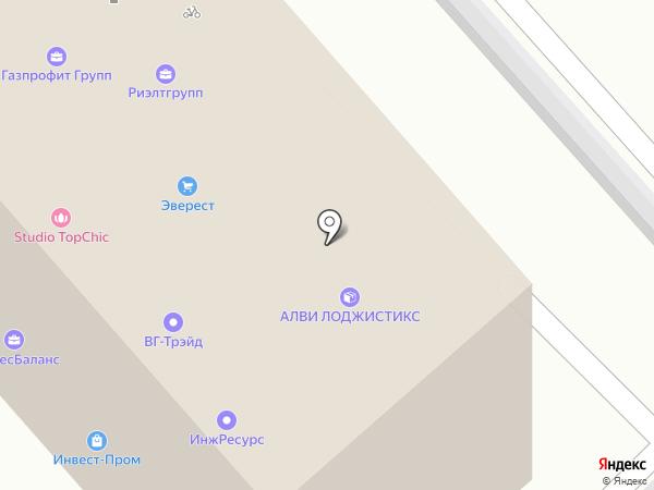 Инвест-Пром на карте