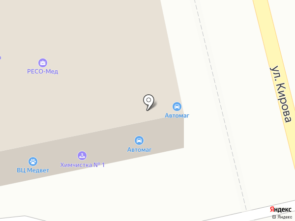 Automag на карте