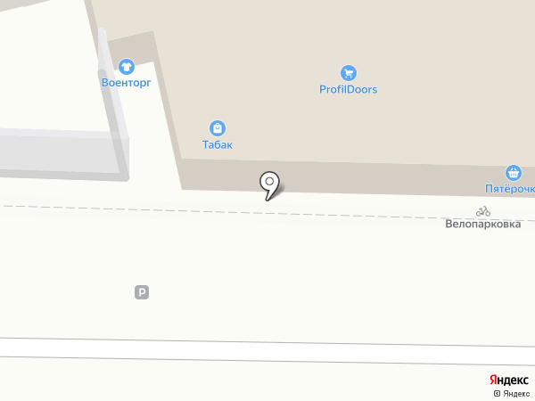 Магазин товаров для творчества на карте