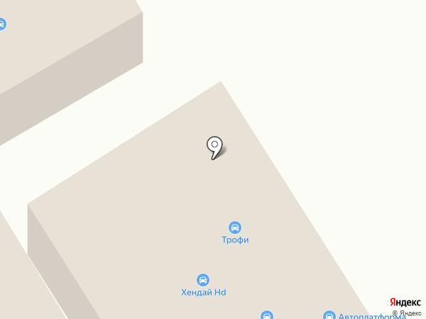 VAV-Auto на карте