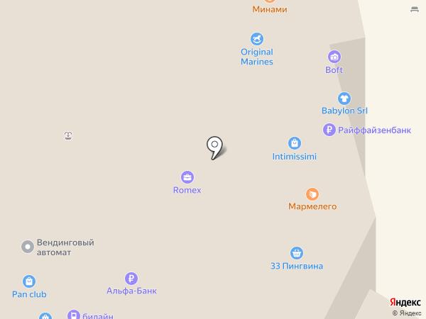 Visconti на карте