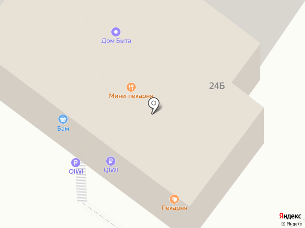 Ксюша на карте