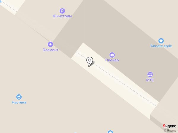 Тэт на карте