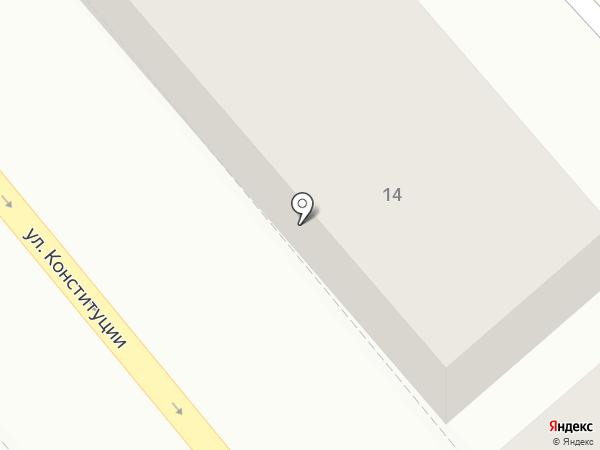 Городской социологический центр на карте