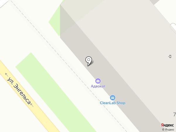 Компания систем безопасности на карте